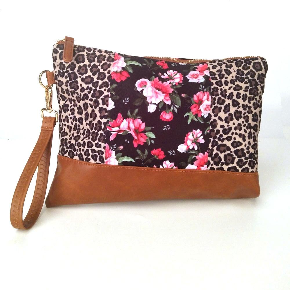 Abendtaschen Kurzflorigen Velour Cheetah Handtasche Großhandel Rohlinge Leopard Patchwork Handtasche Bridemaid Geschenk Abendtasche Dom106668 Damentaschen