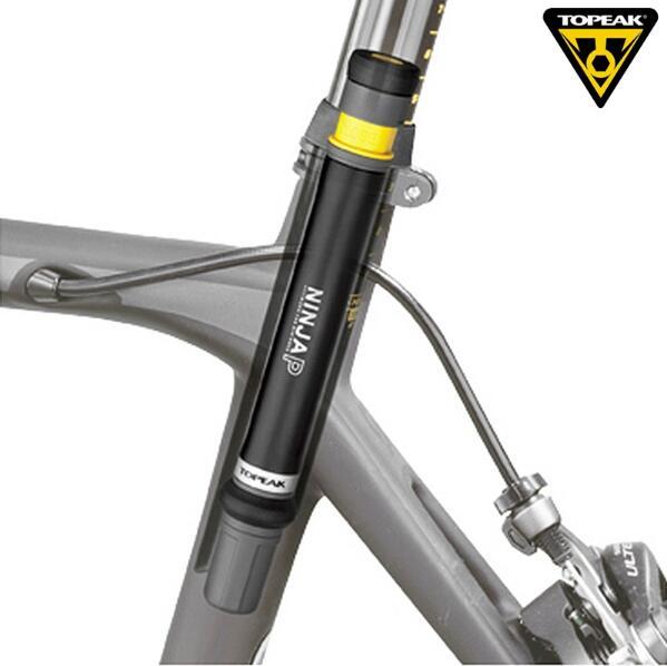 Topeak NINJA P Bicycle Mini Pressure Pump Road Bike 160psi Presta Valve Portable Pump CNC Inflator Cycling Seatpost Hidden Pump
