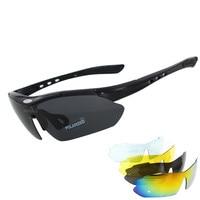 Goggles Airsoftsports Do Blade Sunglasses 5 Lens Polarized Men Sport Road Mtb Mountain Bike Glasses Eyewear