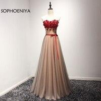 Новое поступление, недорогое вечернее платье с открытыми плечами 2019, с аппликацией 3D, вечернее платье с цветочным рисунком, Vestido de festa vestido longo