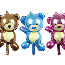 US $12.75 15% OFF|New arrive Mini bear Foil balloon party decoration cartoon Birthday balloons Children's toys Hot sale 50 pcs/lots wholesales-in Ballons & Accessories from Home & Garden on Aliexpress.com | Alibaba Group