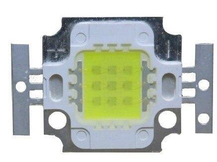 10 Вт 13000-15000 К светодио дный IC Высокое Мощность светодио дный 1000LM 9 В-12 В 900mA лампа для проекта аквариума непосредственно с фабрики