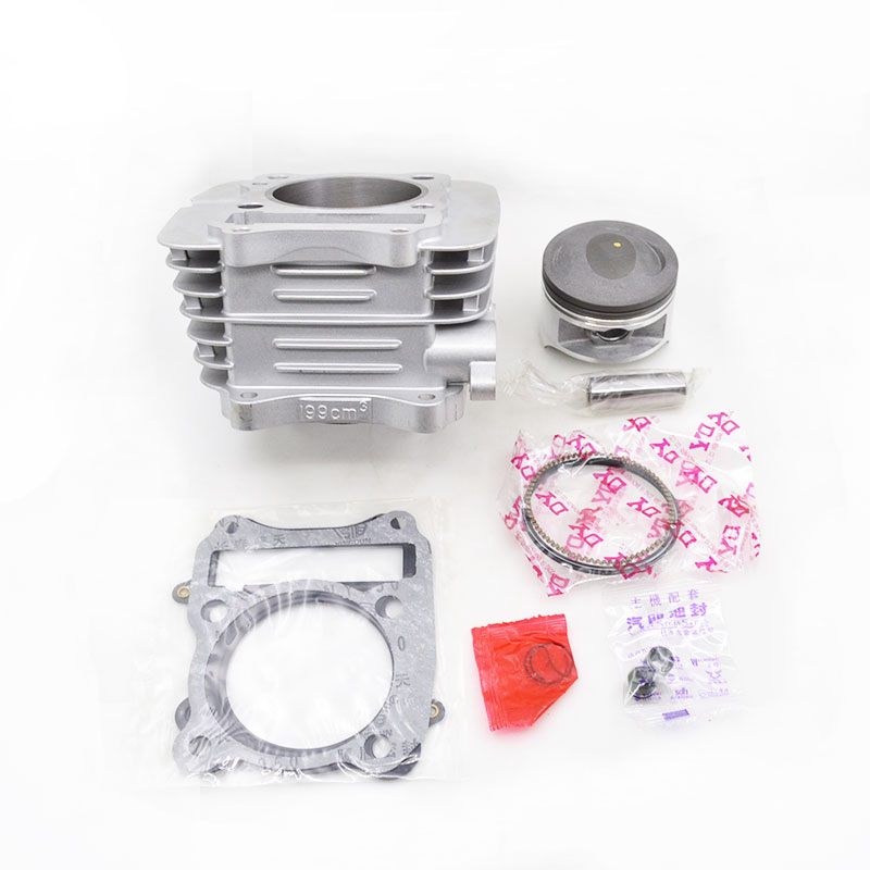High Quality Motorcycle Cylinder Kit For Qingqi QM200GY GTX200 GS199 QM GTX 200 200cc Engine Spare Parts jiangdong engine parts for tractor the set of fuel pump repair kit for engine jd495