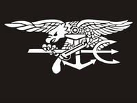 2pcs Set Fashion U S Navy Seals Stickers Eagles Waterproof Stickers Special Troop Decals Sticker For