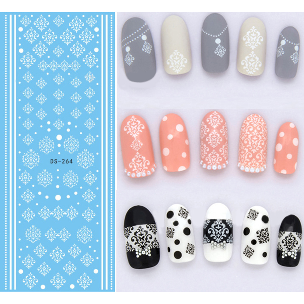 2014 New * 88 Style Stamp Postcard Letters Map Designs Nail Water Decal  Transfer Sticker Nail Art Transfers Decals Wrap Natural False Tips How To  Use Nail ...