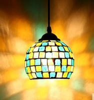 Yeni cam continental retro cafe bar giriş lambaları kulübü Kolye Işıkları Batı tarzı gıda restoran sanat mozaik cam lambalar