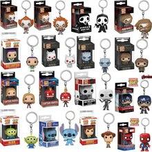 FUNKO POP Avengers: Endgame Toy Story 4 Pennywise kieszonkowy brelok figurki gra o tron zabawka dla dzieci prezent na boże narodzenie