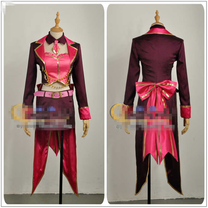 Japanese Amine THE IDOLM@STER Cinderella Girls Tulip MIKA JOUGASAKI Cosplay Costume Custom Made Woman Dress