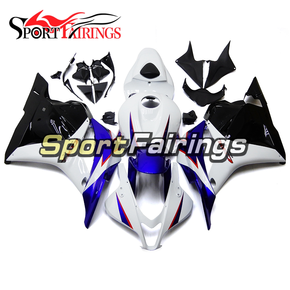 Complete Fairings For Honda CBR600RR F5 09 10 11 12 2009 2012 Injection ABS Plastic Full Motorcycle Body Kits Blue White New