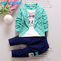 Brand Designers Sport Suits Clothing Set for Boys Cotton Toddler Plaid Pullover Jacket+Casual Pant Infant Baby Clothes Set China