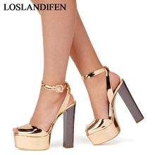2018 Fashion Sweet Summer Shoes Elegant Bead Simple Buckle Party Wedding High Heels Shoes New Big Size Sandals Shoes TL-A0029 memunia new women sandals sexy thin heel summer shoes simple pu buckle fashion shoes big size 33 47 red party wedding shoes