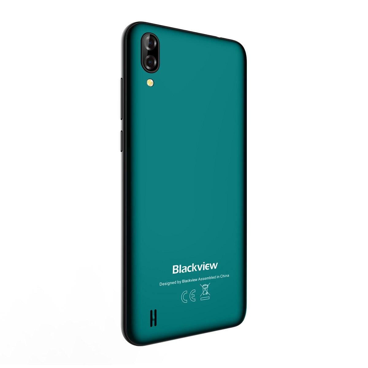 Nouveauté Blackview A60 Smartphone 4080mAh batterie 19:9 6.1 pouces double caméra 1GB RAM 16GB ROM téléphone portable 13MP + 5MP caméra - 3