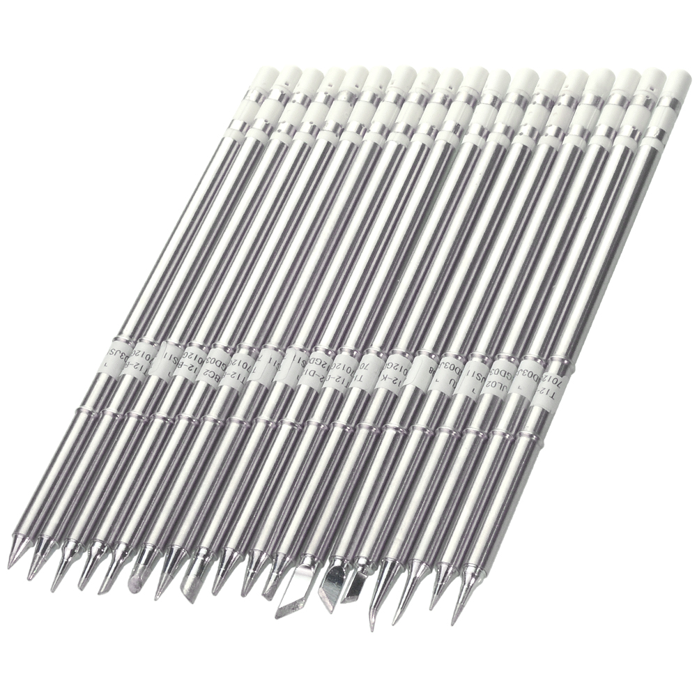 T12 Series Soldering Iron Tips for HAKKO T12 Handle LED