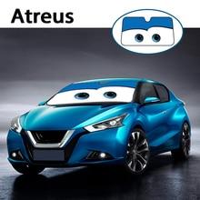 Atreus 1pc cartoon Car Window Windshield Windscreen Cover Sun Shade For VW polo passat b5 b6 Mazda 3 6 cx-5 Toyota corolla Ford
