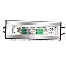 2PCS 50W LED Driver 1500mA 30-36V COB High Power LED flood light dirver IP67 LED power supply Led floodlight driver