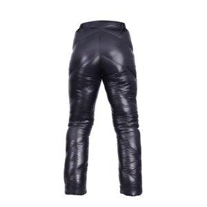 Image 2 - AEGISMAX Unisex 95% Beyaz Kaz Aşağı Pantolon Açık Kamp Pantolon Su Geçirmez Sıcak Kaz Tüyü Pantolon 800FP