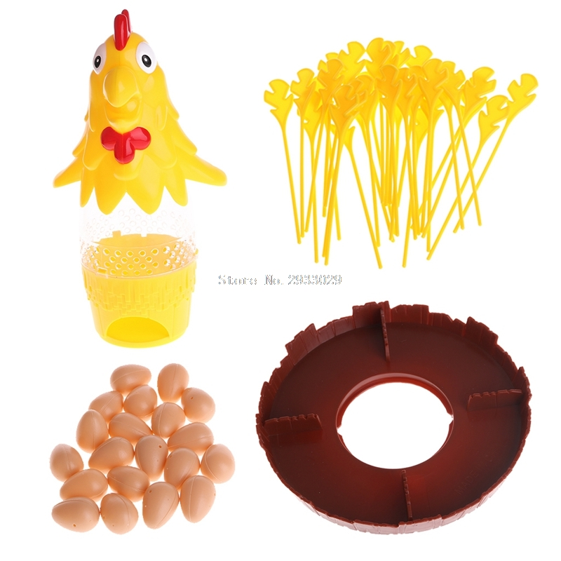 Chicken Don't Drop Egg Game Kid Children Exciting Fun Pull Out Feathers Toy Gift -B116 microsoft office 365 для дома подписка на 1 год на 5 пользователей