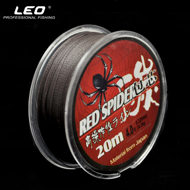 High Strength Stainless Steel Wire PE Braided Fishing Line 20M Quick Sinking PE Fishing Line 0.1mm~ 0.32mm Fishing Tackle