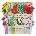 Original corea i'm real máscara natural de la planta máscara 11 unids (de cada tipo) blanqueamiento Hidratante Antiarrugas Máscara Facial