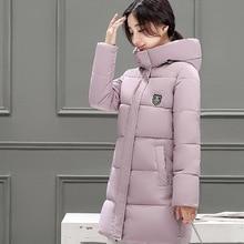 2016 Korean version winter jacket women Hooded Thickening Down jacket Fashion temperament Female down coat Slim Cotton clothing