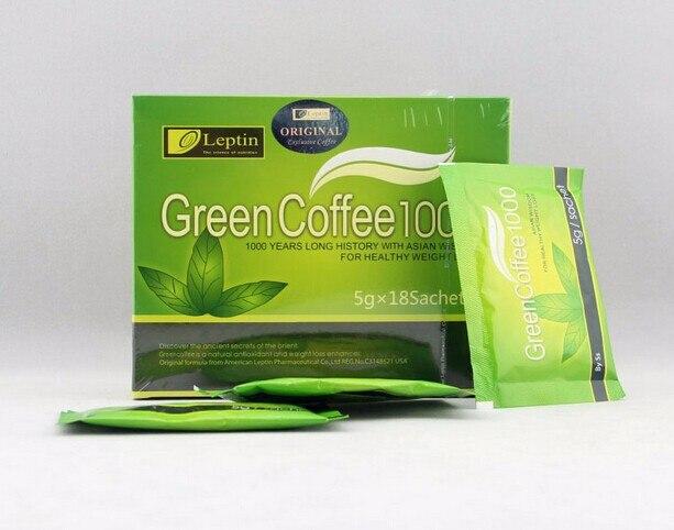 3 Bo Lot 5g 54bags Weight Loss Green Coffee 1000 Slimming Tea