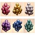 12 дюймов 24 шт металлический шар хромированные воздушные шары латексные надувные воздушные шары Свадебные украшения на день рождения товар...