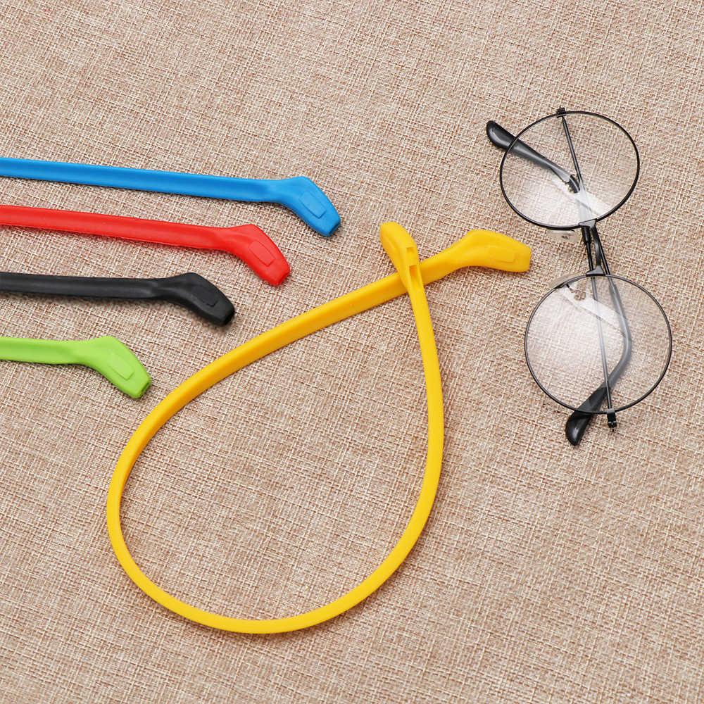 1Pc Siliconen Glazen Ketting Sport Duiken Waterdichte Band Sport Brillen Zonnebril Cord Holder Fashion Eyewear Accessoires