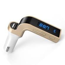 Bluetooth fm-передатчик, дизайн Беспроводной в автомобиле FM автомобильный адаптер Kit с USB Автомобильное зарядки для iPhone Samsung Android-смартфон