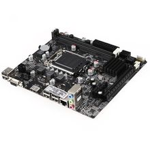 Jia Huayu Professional H61 Desktop Computer Mainboard Motherboard LGA 1155 Pin CPU Interface Upgrade USB2.0 DDR3 1600/1333/106 x79 motherboard desktop computer mainboard octa core cpu usb3 0 server for lga ddr3 1600 1333 1866
