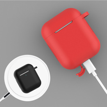 Earphone Accessories Case for Airpods Apple Silicone Airpod Cover Wireless Headphones Funda