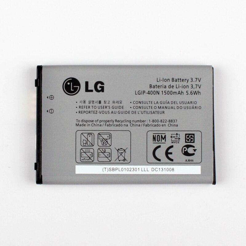 Новый оригинальный LG lgip-400n Батарея для LG Optimus M/C/U/V/t/s/ 1 vm670 ls670 MS690  ...