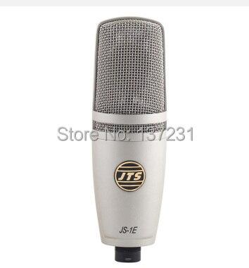 3181b8df48090 Original JTS JS-1E estudio micrófono de condensador para grabar música ADR  sonido trabajo Foley