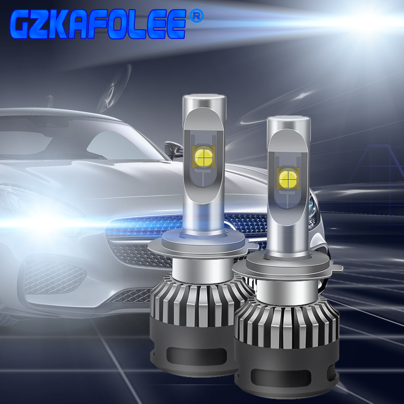 Car Lights Bulbs LED H7 H4 H11 Auto led lamp 9012 D4S D2S H1 9004 9007 9008 9005 9006 Headlights 12V Led Light XHP 70 LED Lamps