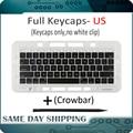 Ноутбук A1989 A1990 клавиатура us usa Keycaps ключи Америка американский английский ключ крышка для Apple Macbook Pro Retina 13