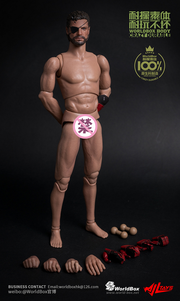 WorldBox 1 6 AT024 Durable body intelligent prosthesis figure body in stock