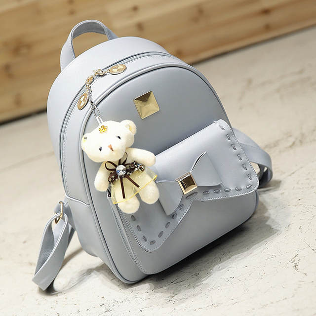fa125d6727 placeholder Kavard Fashion Backpack Women Pu Leather Back Pack Famous Brand  School Bags for Girls sac a