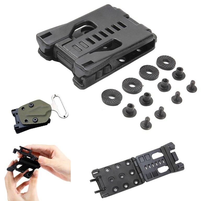 EDC Gear Multi Function K Sheath Kydex Scabbard Belt Clip Waist Clamp