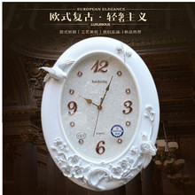 Crafts Arts Home decoration Sea star decoration relief watch clock room modern minimalist clock ultra quiet quartz clock