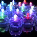8pcs/lot Novelty Waterproof Electronic Mini LED Candle Light Night Light for Parties /Bar /Dinner Led Night Lighting