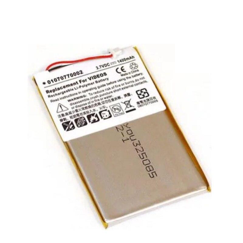 Batterie für Creative Zen Vision M Lautsprecher Li-po Lithium-Polymer Wiederaufladbare Batterie Ersatz 3,7 v BA20603R79914 DVP-HD0003