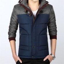 2017 winter jacket men's warm thick casual hooded coats windbreaker parka mens coats and jackets