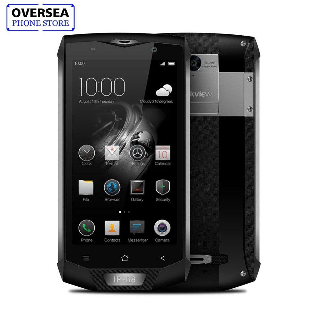IP68 Blackview Étanche BV8000 Pro Smartphone MT6757 Octa Core 6G RAM 64G ROM 5.0 Pouces 1920*1080 16.0MP 4G Android 7.0 Téléphone
