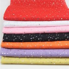 Glitter Sequin Fabric 150cm Width 1yard/lot Middle Hard Tulle Mesh Wedding Sewing DIY Organza Tutu Skirt Accessories