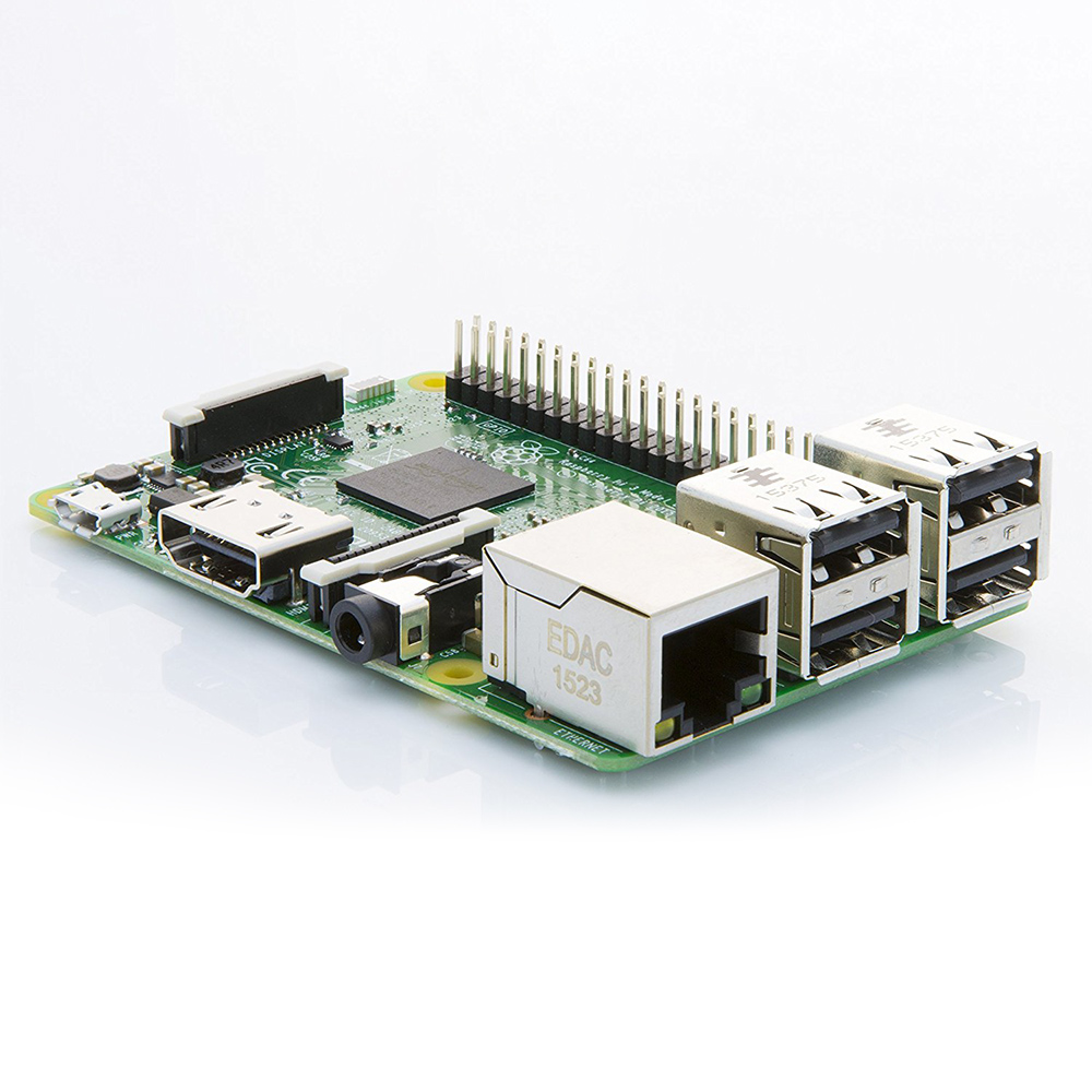 Купить с кэшбэком Raspberry Pi 3 Model B Board 1GB LPDDR2 BCM2837 Quad-Core Ras PI3 B,PI 3B,PI 3 B with WiFi&Bluetooth