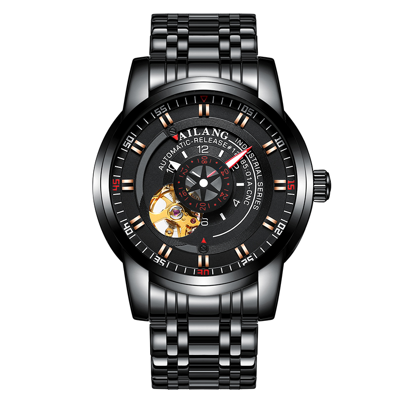 AILANG 8601 Switzerland watches men luxury brand skeleton automatic mechanical industrial top quality black relogio masculinoAILANG 8601 Switzerland watches men luxury brand skeleton automatic mechanical industrial top quality black relogio masculino