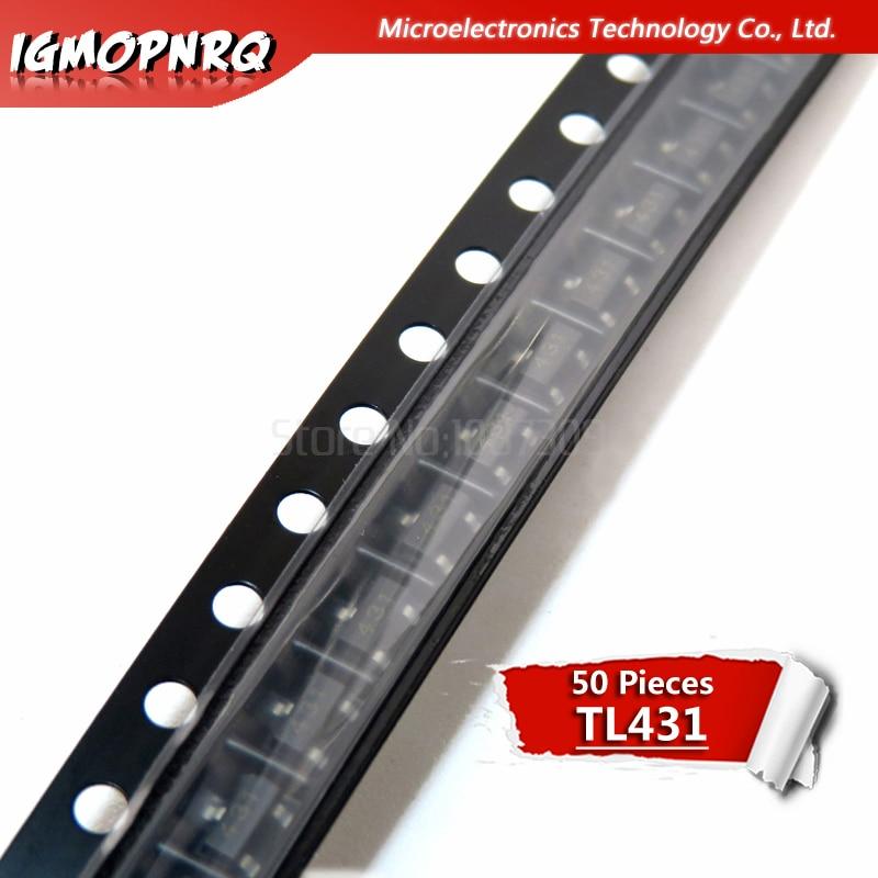 50PCS TL431 SOT TL431A SOT-23 431 SOT SMD New Voltage Regulator IC