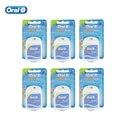 Interdental Cepillo de Dientes Oral B Ultra Hilo Cómodo Hilo de Cera de Limpieza Cuidado de Las Encías Hilo Dental 25 M (6 unids = 1 pack)