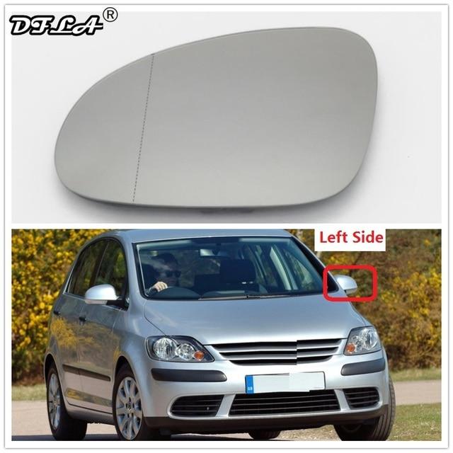 Left Driver Side For VW Golf 5 V MK5 Plus 2005 2006 2007 2008 2009 2010 2011 Car-Styling Car Door Side Heated  Mirror Glass