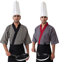 Japanese Style Chef Uniform Cook Suit Summiteer Restaurant Service Summiteer Hotel Working Work Wear Sushi