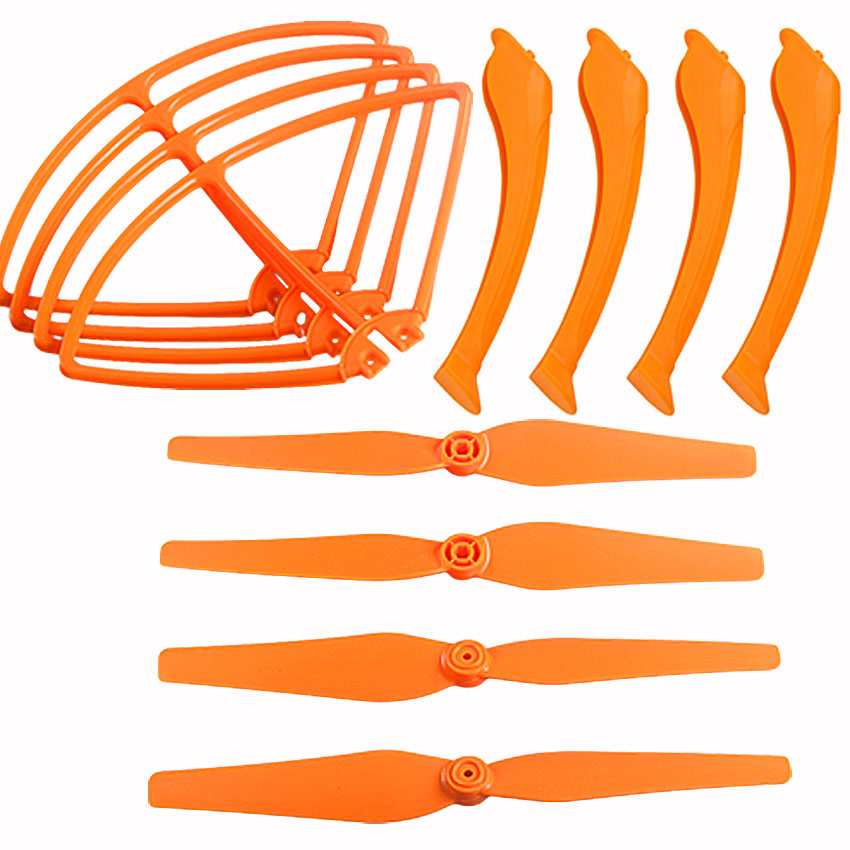 Syma X8 X8C X8W X8G Parts Set Landing Gear Blade Propeller Protect Ring for font b